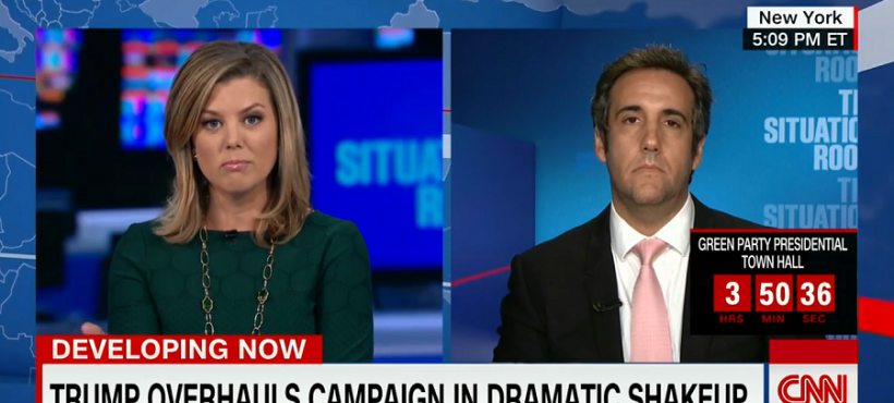 Brianna Keilar and Michael Cohen discuss polls where he asked Says Who and she replied, all of them