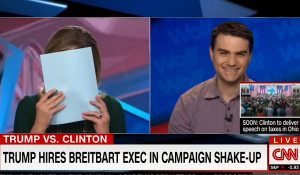 Speaking to Brianna Keilar, Ben Shapiro said the Brannon Trump alliance is a turd tornado - much like a Sharknado with poop.