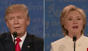 After attacking abortion Trump called Clinton 'such a nasty woman' - a demeaning attack on all women