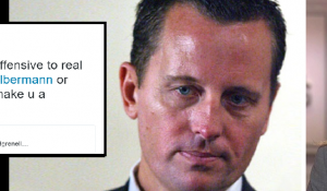 Richard Grenell offers sexist argument of Katy Tur
